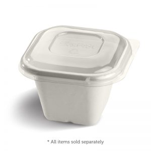 Bio Takeaway Square Containers