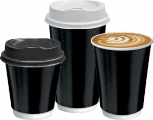 Castaway Coffee Cups and Lids