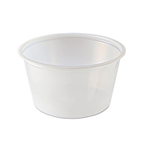 Round Sampling Portion cup 2oz